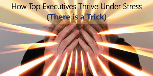 Business Performance: How Top Executives Thrive Under Stress (There is a Trick)